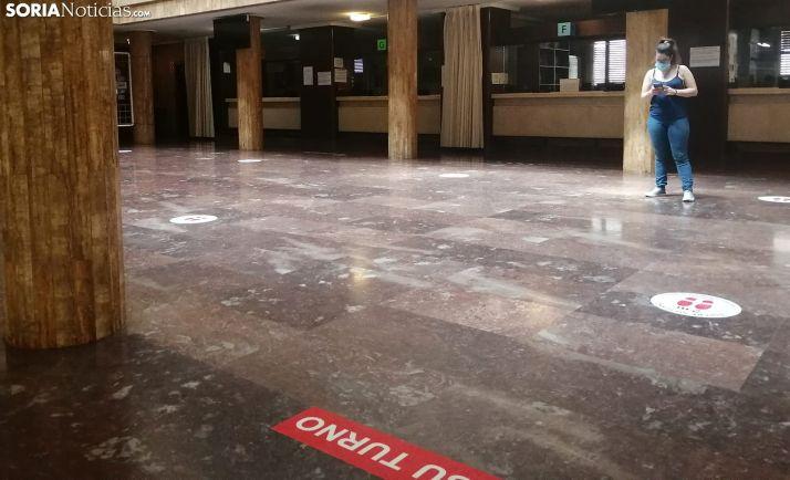 Imagen del patio de columnas del ayuntamiento capitalino. /SN