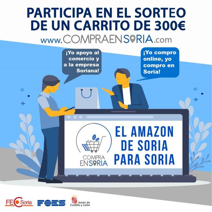 Foto 2 - La tienda online 'Compra en Soria' inicia su andadura con el sorteo de un carrito de productos valorado en 300 €