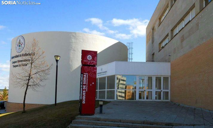 Una imagen de las instalaciones del Campus Duques de Soria. /SN