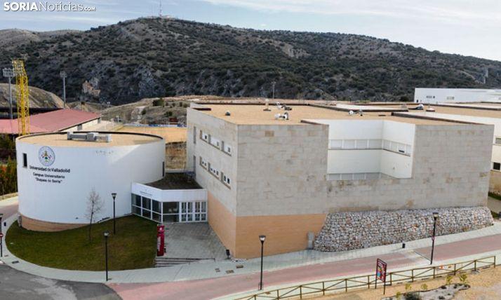 Vista aérea del Campus Duques de Soria. /SN
