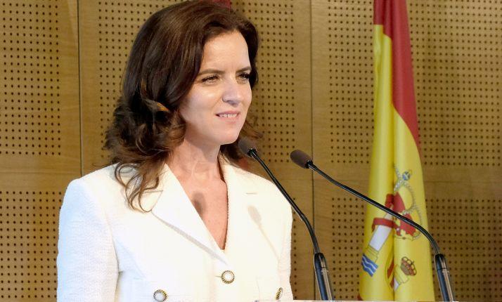Carlota Amigo, consejera de Empleo e Industria. /Jta.