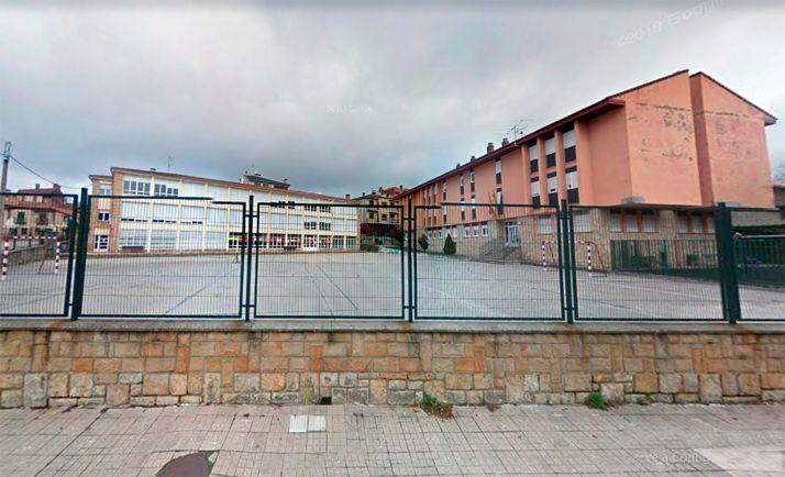 El patio del CRA Pinar Grande, en Navaleno. /GM
