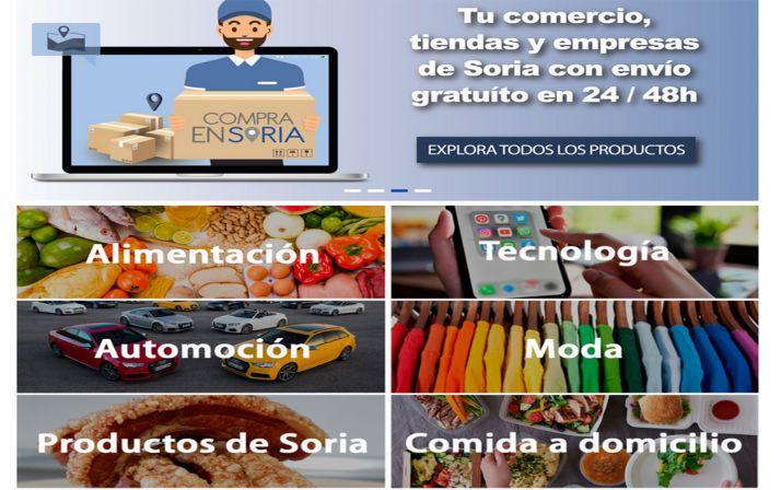 Foto 1 - www.compraensoria.com abre a las 00:00 horas la venta de productos