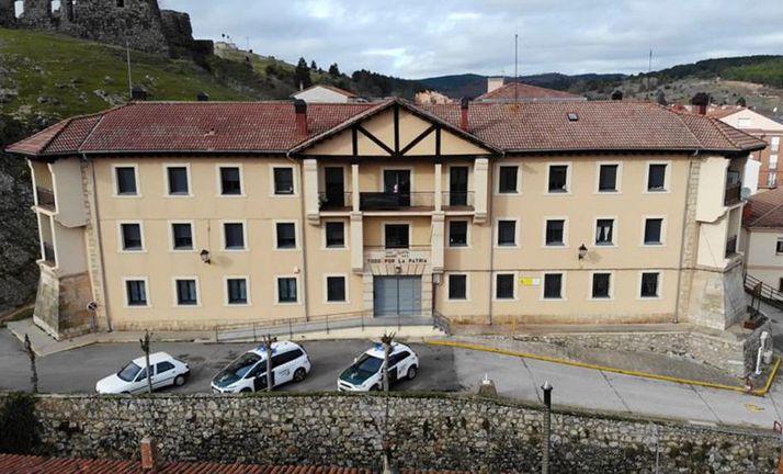 Una imagen del cuartel del la Guardia Civil de San Leonardo. /GC