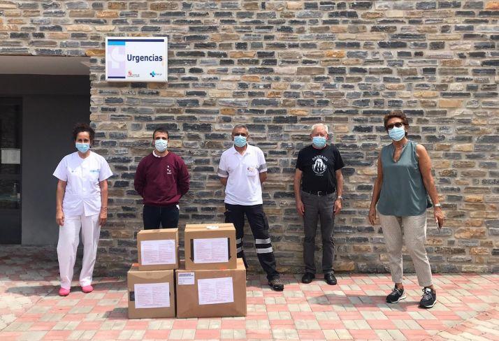 27 asociaciones de Tierras Altas materializan la tercera y última entrega de material sanitario