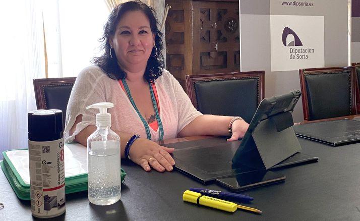 Eva Muñoz, diputada provincial de Servicios Sociales.