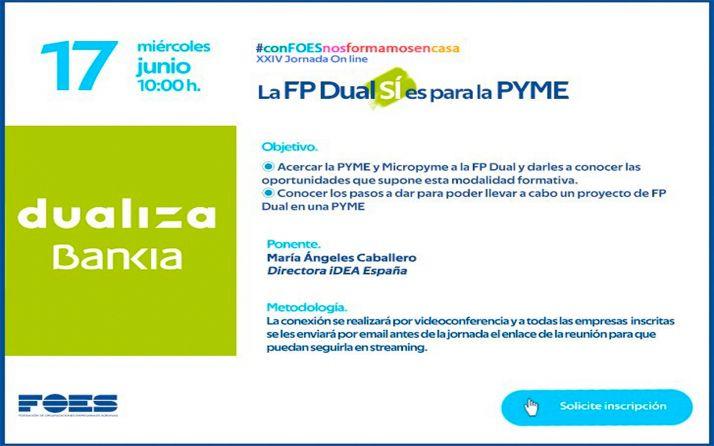 Foto 1 - La FP Dual en las pymes y micropymes sorianas, nueva jornada gratuita de FOES