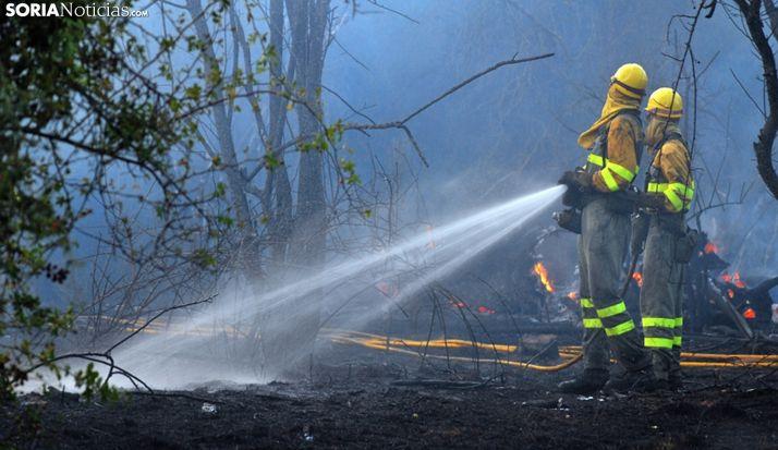 Foto 1 - Castilla y León y Madrid blindan su coordinación en incendios y emergencias en territorios limítrofes