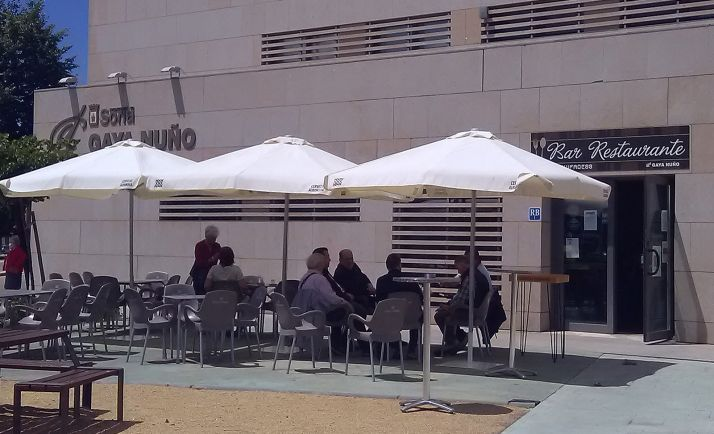Una imagen de la terraza del establecimiento.