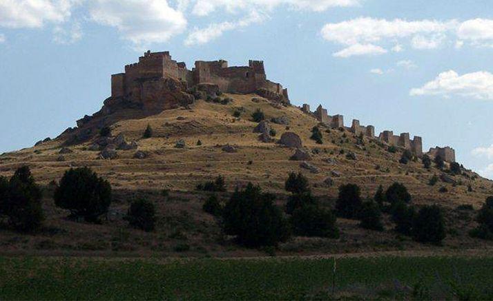 Una imagen de la fortaleza de Gormaz.