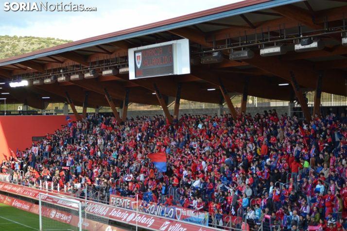 Foto 1 - El Numancia juega esta tarde el partido más importante de su historia