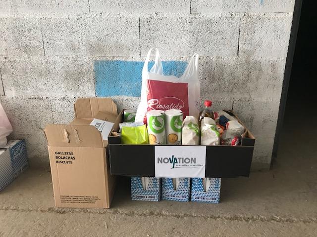 Foto 2 - Una empresa arcobrigense dona alimentos para beneficiar a 20 familias