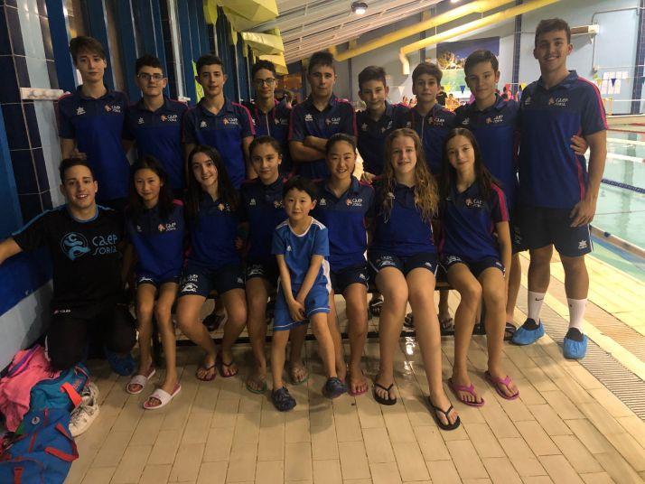 Foto 1 - El Club Natación Soriano vuelve a los entrenamientos