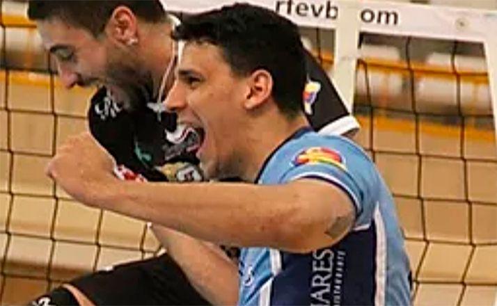 Igor Iuri Silva, celebrando un tanto. /María Morales