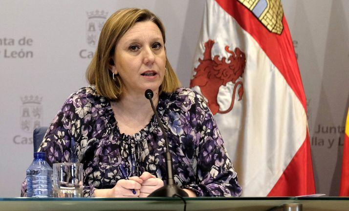 Isabel Blanco, consejera de Familia e Igualdad. /Jta.