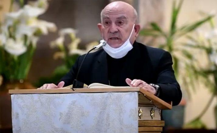 Vicente Jiménez Zamora, en su intervención en Ágreda.