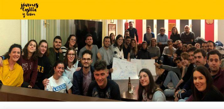 Foto 1 - Jóvenes de Castilla y León en Madrid elevan sus propuestas a Gobierno y Junta