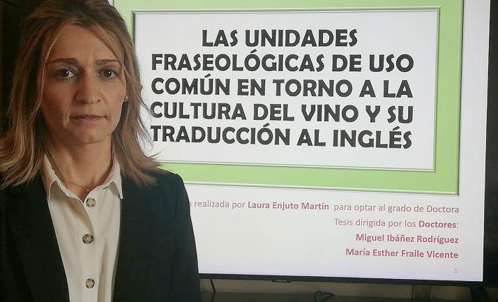 La ponente, Laura Enjuto Martín.