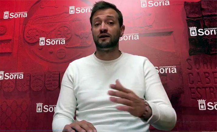 Manu Salvador, concejal de Deportes. /Ayto.