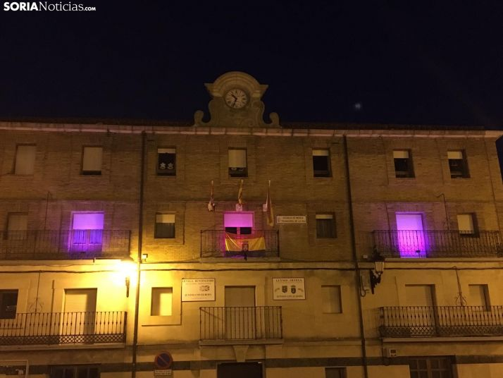 El edificio municipal de la plaza de España. /SN