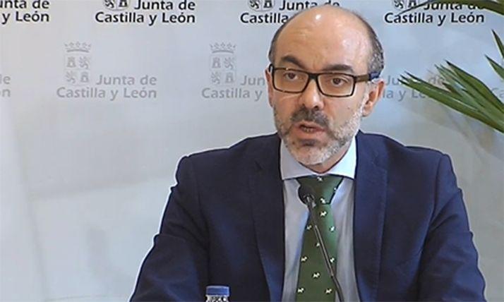 El consejero de Cultura y Turismo, Javier Ortega.