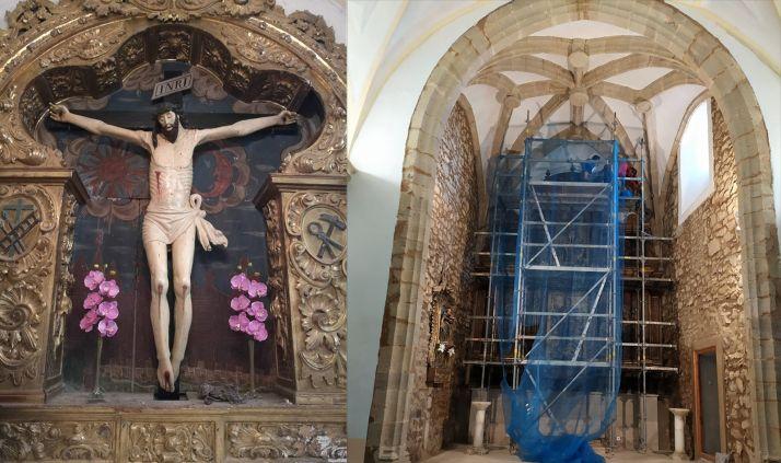 Foto 1 - La parroquia de Pinilla del Campo destina más de 47.000 € a conservar su patrimonio