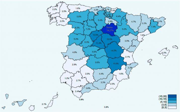 Datos de la segunda oleada del estudio del Ministerio de Sanidad.