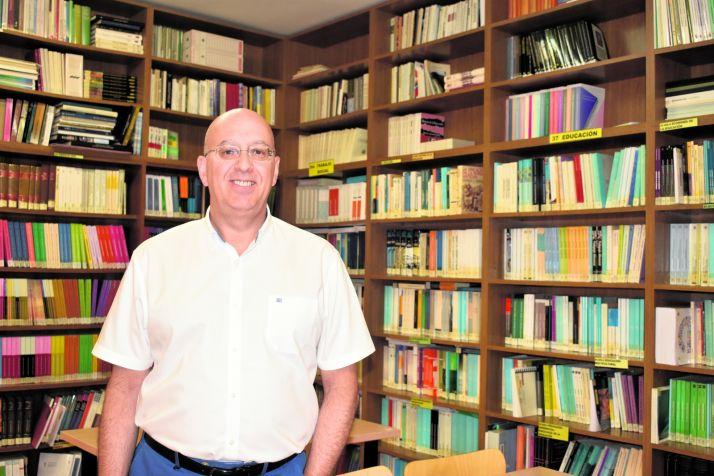 Saturio Ugarte, director del centro asociado de la UNED en Soria.