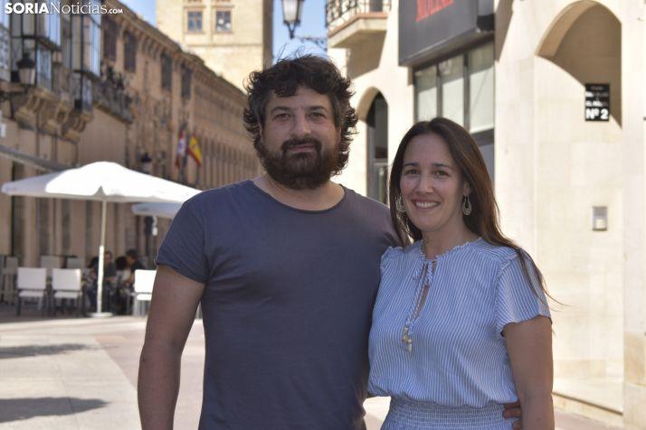 Rubén y Elena recuerdan sus sanjuanes.