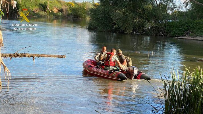 Foto 1 - Fanalizada, sin éxito, la búsqueda del cocodrilo de Valladolid en el Duero