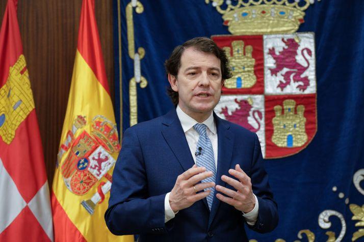 """Foto 1 - Mañueco: """"La unión hace crecer nuestra confianza en que vamos a superar toda dificultad"""""""
