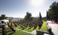 Una imagen del homenaje de este lunes en Segovia. /Jta.