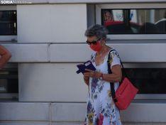 Una imagen del concierto frente al Santa Bárbara este martes. /SN