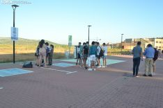Una imagen del primer día de la EBAU 2020 en Soria. /SN