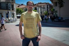 Eduardo Rodrigo, voluntario durante la pandemia. /María Ferrer