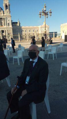 Foto 4 - Un soriano, invitado al homenaje de Estado a la víctimas de la Covid-19