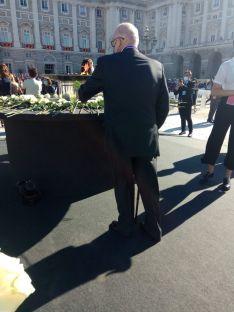 Foto 5 - Un soriano, invitado al homenaje de Estado a la víctimas de la Covid-19