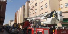 Foto 5 - Incendio en una vivienda de Soria