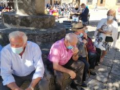 Los Reyes de España en Vinuesa