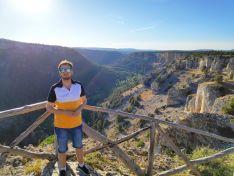 Jonathan Gómez Cantero, reconocido geógrafo y presentador, visita el Cañón del Río Lobos