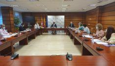 Reunión de la Mesa del Diálogo Social sobre vivienda. /Jta.