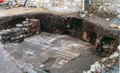 Mosaico en la villa de Medinaceli. /Jta.