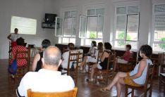 Imagen de la primera sesión del taller.