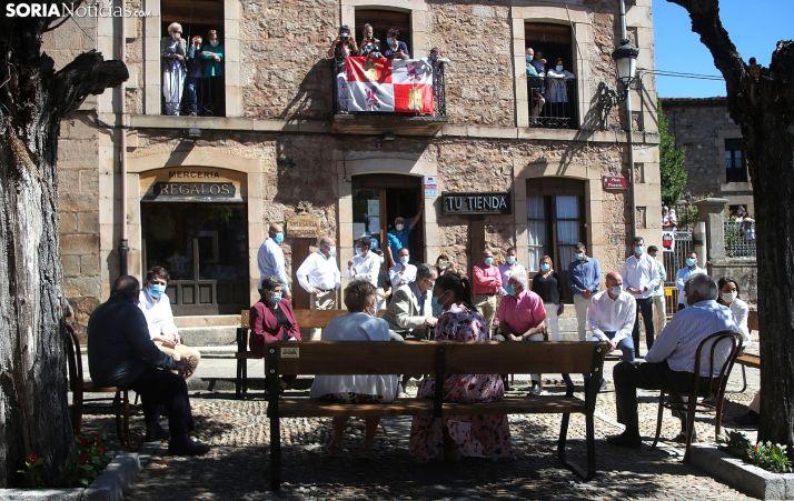 Foto 1 - GALERÍA: Los Reyes de España, en Vinuesa (Soria)