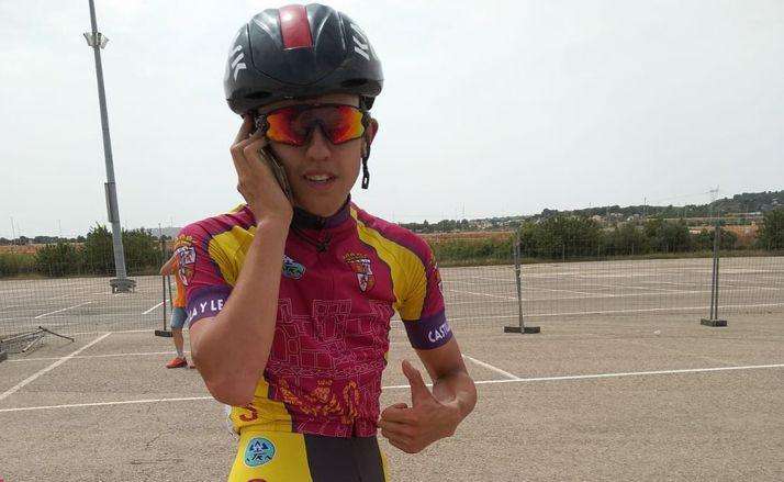 El ciclista soriano en una imagen de archivo.