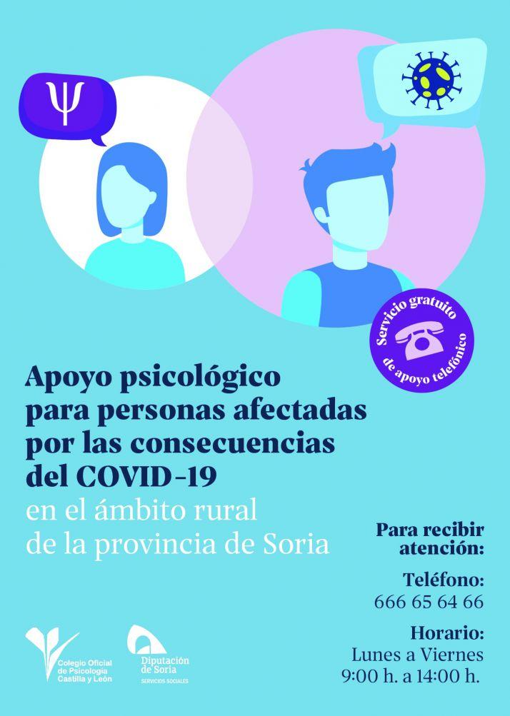 Foto 1 - Diputación ofrece apoyo Psicológico a personas afectadas por la enfermedad Covid 19