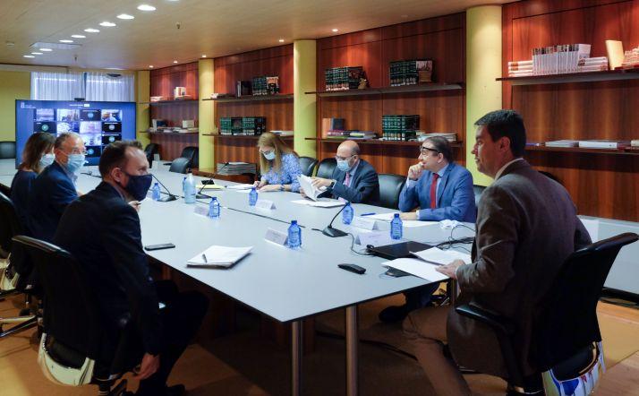 Reunión del Consejo de Cooperarción este martes. /Jta.
