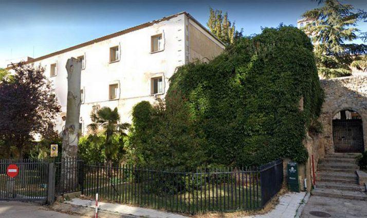 Una imagen del edificio en la Ronda.