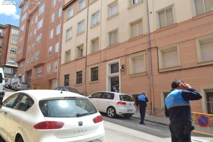 Imagen del operativo policial el pasado mes de junio