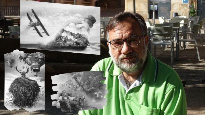 Foto 1 - 'Ferrus' expone sus obras creadas durante la cuarentena